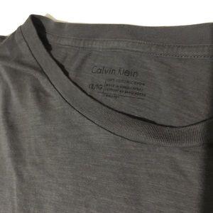 Grey with black stripe Calvin Klein T